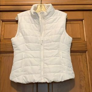 Aeropostale White Vest with Pockets
